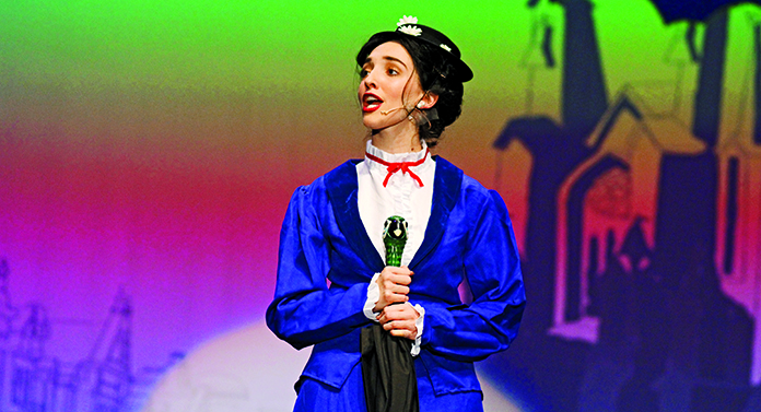SUPERCALIFRAGILISTICEXPIALIDOCIOUS%3A+Madeline+Sparkes+played+the+magical+title+character+in+Mary+Poppins.+Spectators+said+Sparkes+was+well+casted+in+this+incredible+role.+