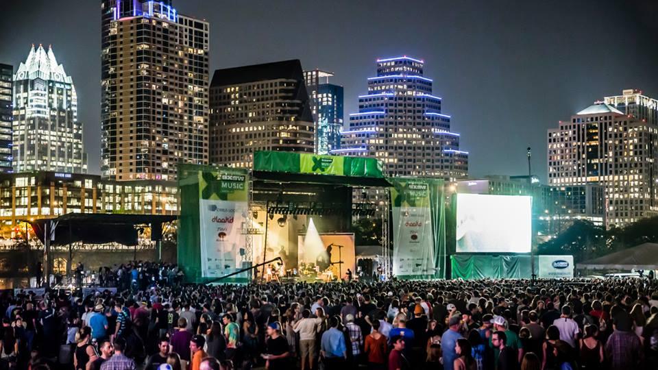 SXSW concert in 2015
