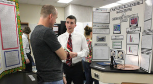 Students explore various fields at the Science Fair