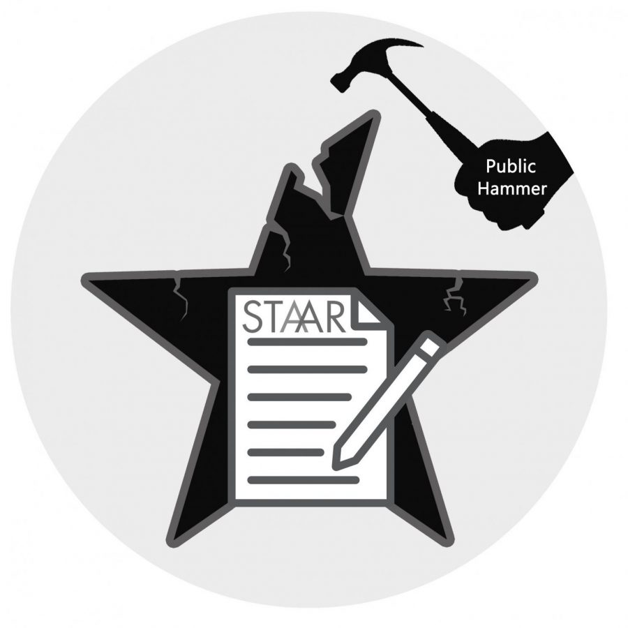The+State+of+Texas+Assessments+of+Academic+Readiness+test.+The+STAAR+test+is+one+example+of+what+many+states+require+for+students+to+pass+in+order+to+move+from+one+grade+to+the+next.+