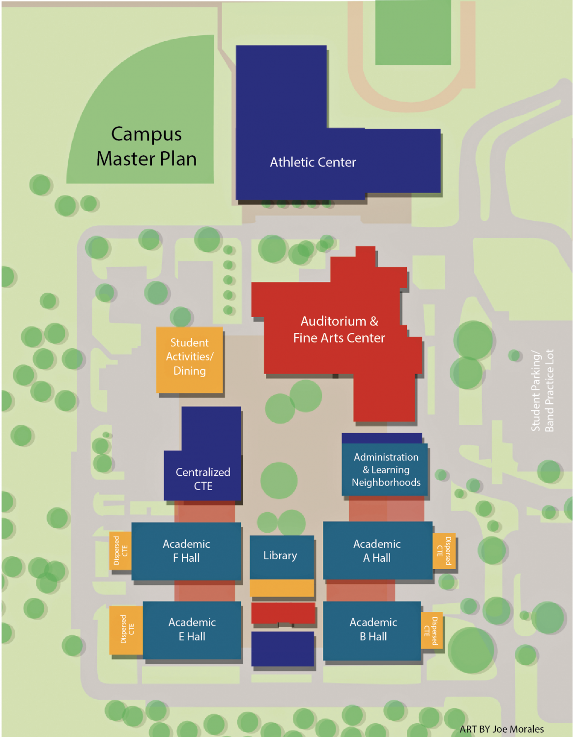 The future of the school has been altered. No longer will its students recognize it for its extensive traffic and outdated facilities. With the initiation of the 2017 bond, the campus was included based on one thing: capacity needs.