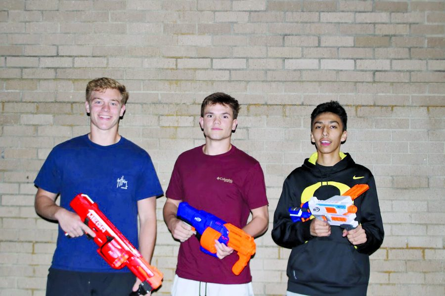 The purpose of the Nerf wars was just to have fun and show students there's more to life than school and the stress that comes with it.