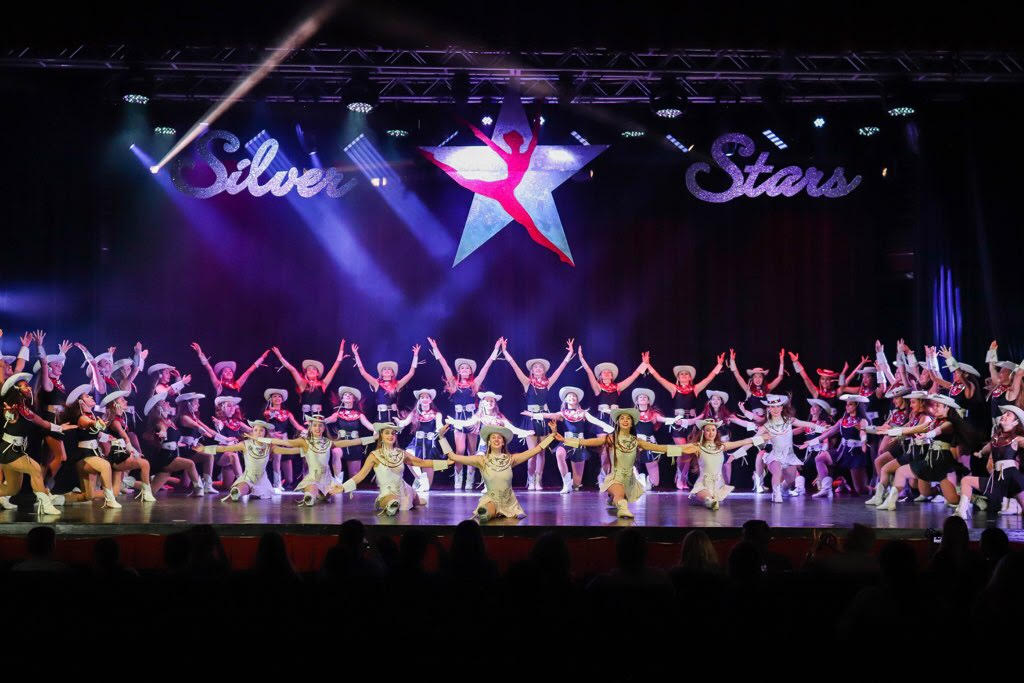 The 2019 Silver Stars strike a pose during this years Spring Show