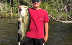 Hunter Amidon ranks in the high school top 10 for the Top Tier Fishing