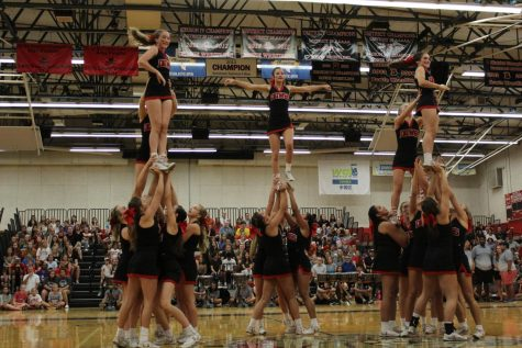 New pep rally traditions
