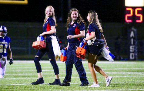 Behind the scenes: athletic trainers