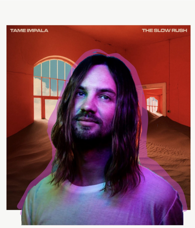 Finally%2C+after+waiting+five+years+for+an+album+from+Tame+Impala%2C+otherwise+known+as+Kevin+Parker%2C+the+album+The+Slow+Rush+gets+released.+On+February+14%2C+the+album+was+released+as+a+follow+up+to+the+album+Currents%2C+released+in+2015.+Since+the+release+of+Currents%2C+Parker+had+released+three+singles%2C+Lost+in+Yesterday%2C+Posthumous+forgiveness%2C+and+Borderline+that+would+later+be+on+the+album+as+a+way+of+transitioning+the+listener+from+his+past+album%2C+Currents%2C+into+the+new+one%2C+The+Slow+Rush.%C2%A0%0A%0A