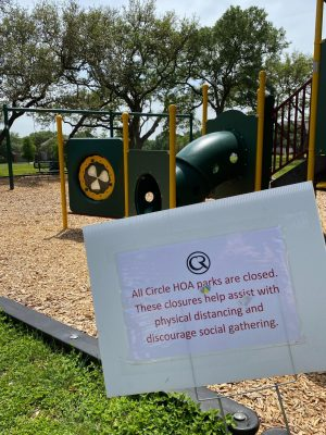 City of Austin closes all public parks for the Easter weekend