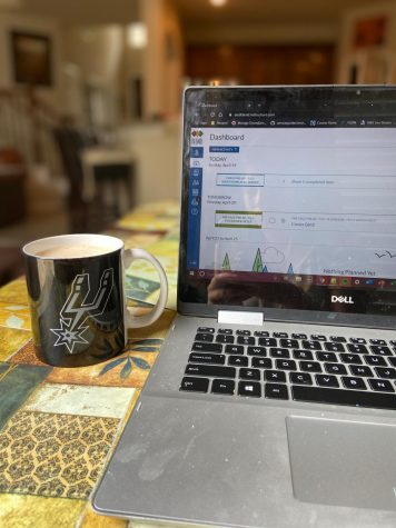 Dispatch reporter makes Whipped Coffee to enjoy while completing work for her online classes. The Whipped Coffee has become a popular trend on the social media app TikTok and is perfect for all coffee lovers.