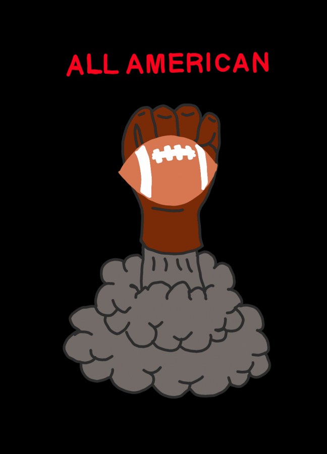 All+American+is+a+Netflix+original+that+now+has+a+total+of+two+seasons.+The+show+follows+the+journey+of+high+school+students%2C+primarily+football+players%2C+who+battle+with+addiction%2C+depression%2C+and+violence.+Dispatch+Reporter+Callie+Payne+believes+the+show+does+an+incredible+job+showcasing+the+true+struggles+of+the+teens+as+well+as+how+they+cope+with+and+overcome+their+own+challenges.+%0D%0A