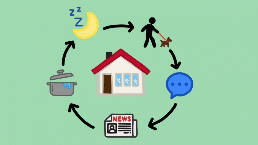 As students are physically isolated in their homes for a prolonged amount of time, it can be difficult to maintain their mental health amidst uncertain times. However, Dispatch Reporter Anna Holme has shared the methods she has used, and that every student should use, to stay healthy and optimistic.