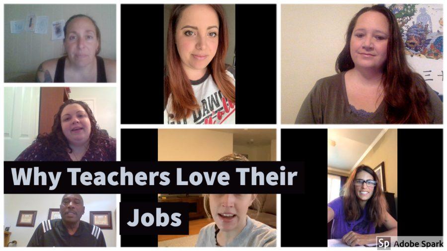 Why teachers love their jobs