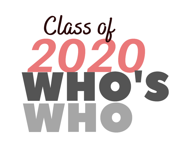 Class of 2020 Who's Who Honorees