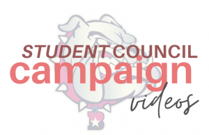 Student council campaign videos for the 2020-2021 election