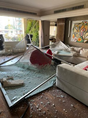 """What seemed like a normal day for staffer Lucciana Choueiry quickly turned into a horror for Choueiry and her family. On August 4, 2020 a large amount of ammonium nitrate stored at the port of the city of Beirut,Lebanon, exploded. """"All I could see was blood on the streets, broken glass falling to the floor from the broken homes, mothers crying while holding their injured kids,"""" Choueiry said."""
