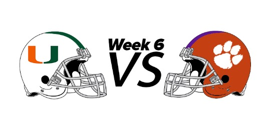 Game of the week: Miami vs Clemson