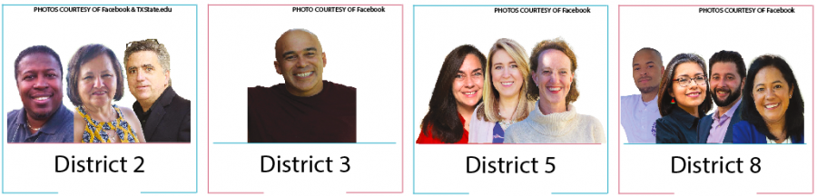 The AISD Trustees candidates.