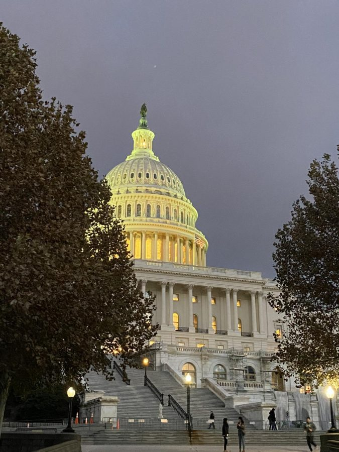 The+Capitol+stands+peaceful+captured+in+a+traditional+day+in+Washington+D.C.+However%2C+on+Wednesday%2C+Jan.+6%2C+the+Capitol+was+breached+by+extremists%2C+marking+the+sole+Capitol+invasion+since+the+attack+of+British+troops+in+1814.+