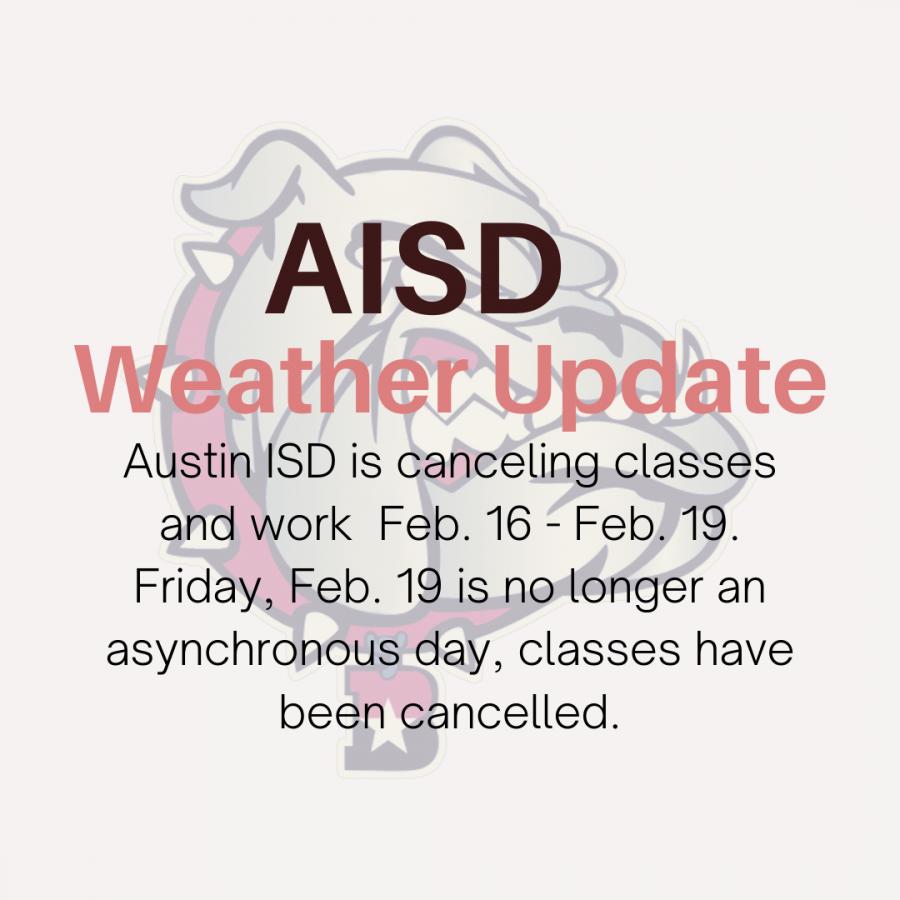 Austin+ISD+class+cancellation