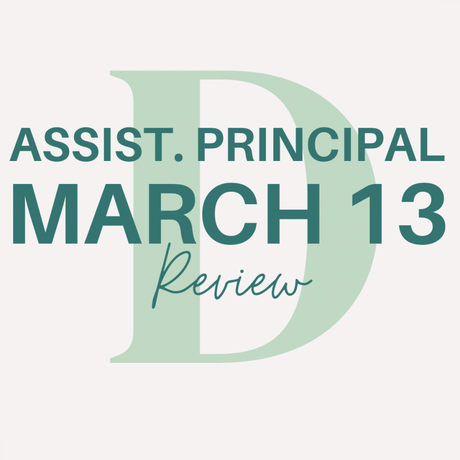 As the one year COVID-19 anniversary approaches, assistant principal Susan Leos, reflects on the year.