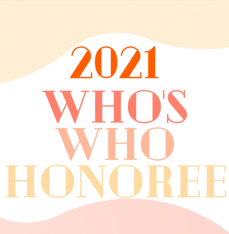 Class of 2021 Who's Who Honorees