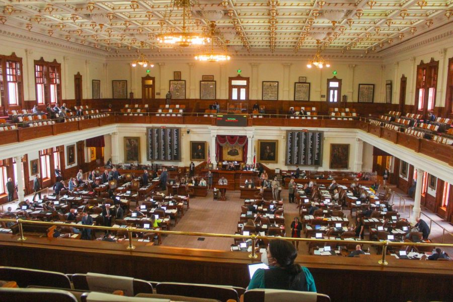 A state representative reads out a bill during a Texas House floor session, trying to get her bill passed before key legislative deadlines. Every other year, the Texas legislature meets for up to 140 days to write new laws and debate bills.